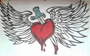 dagger heart wings.. thing by UndeadEraser on DeviantArt