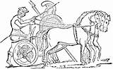Chariot Horse Clipart War Greek Clip Drawn Pages Etc Roman Coloring Template Medium Sketch Clipground Templates Usf Edu Carriage Tiff sketch template