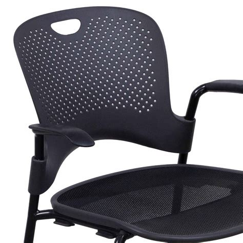 herman miller caper used stack chair gray national