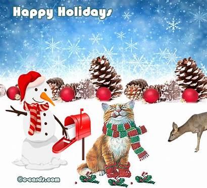 Holidays Holiday Hello Happy Greetings Card Ecards