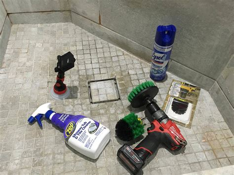 how to clean bathroom tile 9 ways and cleaning bathroom shower tile tub with a power drill how t