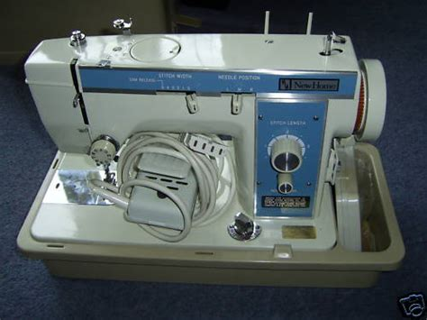 newhome model  sewing machine