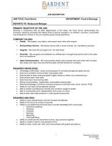 Resume Job Description Resume Template 2017