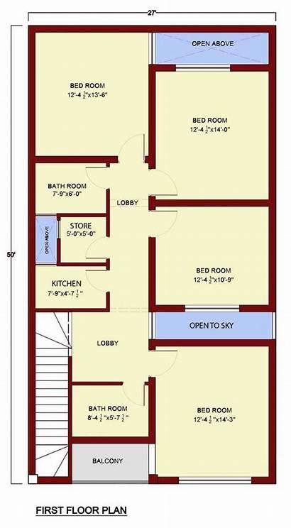 Plan Bedroom Plans Map Floor Kitchen Marla