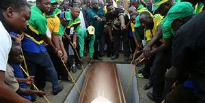 Emotions run high as Komba is buried in home village ...