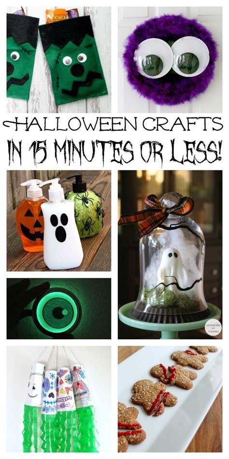 crafts  halloween   minutes   crafts