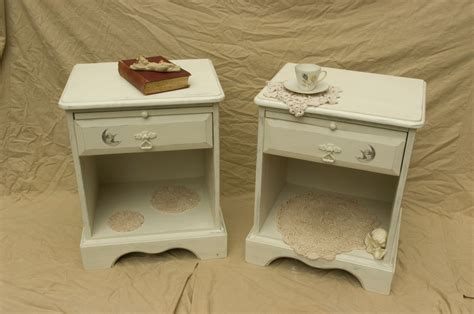 Vintage Shabby Chic Bedside Cabinet02 Touch The Wood