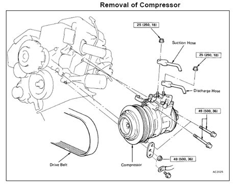 replace lexus ac compressor