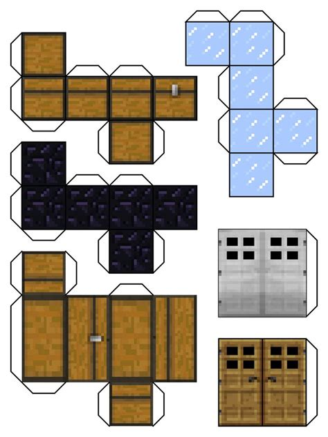 minecraft papercraft blocks minecraft blocks 6 by dylan a king on deviantart garden