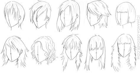 les cheveux pistes didees manga designercom
