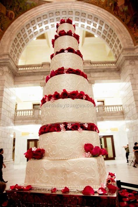 Image result for huge wedding cakes   Big birthday cake ...