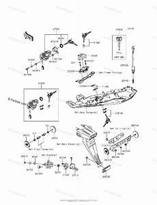 Kawasaki Motorcycle 2013 Oem Parts Diagram For Ignition