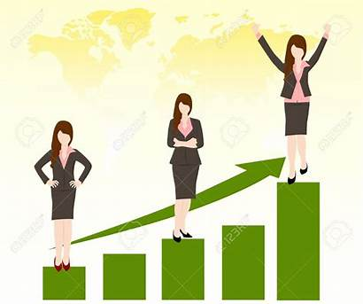 Promotion Job Clipart Female Clip Career Promotions