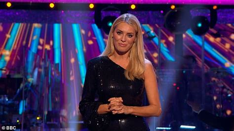 Strictly's Tess Daly dazzles in sequinned jumpsuit for ...