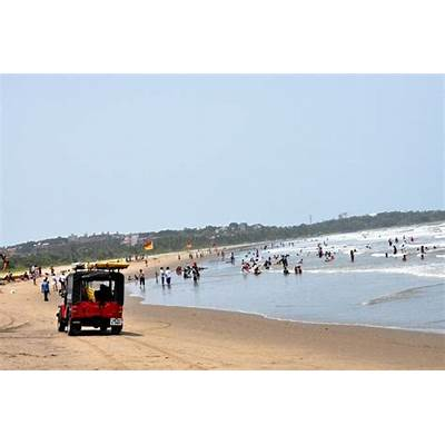 Miramar Beach - Panjim's well-known hotspot for locals and