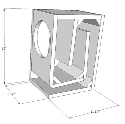 subwoofer box design 331 best images about speaker plans on horns