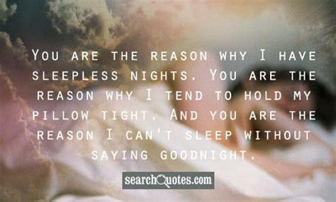 love sleepless night quotes