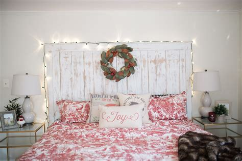 Our Bedroom Holiday Decor  Bedroom Wall Decorations