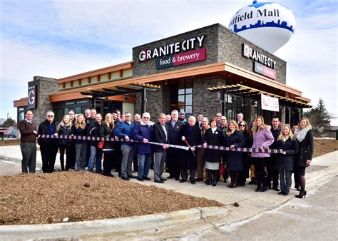granite city food brewery opens in schaumburg il