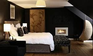 11, Most, Elegant, Black, Bedroom, Designs