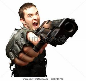 Man aiming gun Stock Photos, Images, & Pictures | Shutterstock