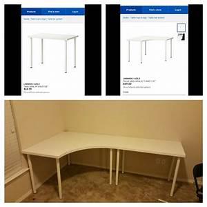 Ikea Tischplatte Linnmon : linnmon adils corner desk and regular desk from ikea youtube ~ Eleganceandgraceweddings.com Haus und Dekorationen