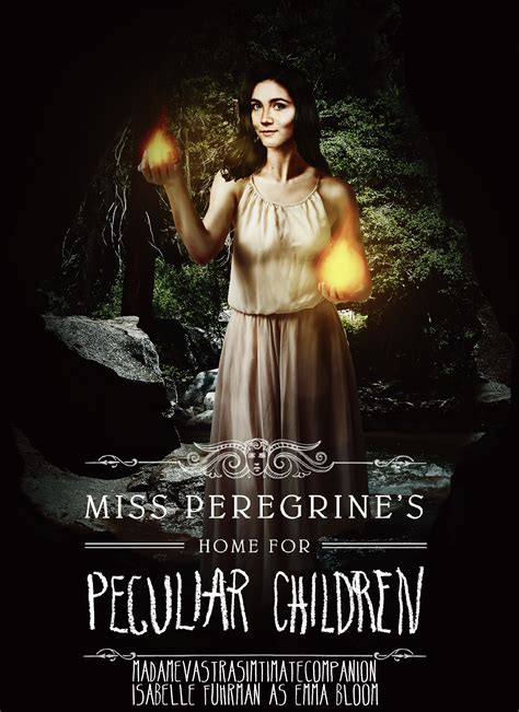 Miss Peregrine S Home For Peculiar Children by Miss Peregrine S Home For Peculiar Children Poster By