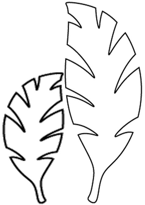 jungle leaf template jungle leaves drawing at getdrawings free for personal use jungle leaves drawing of your