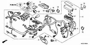 Honda Cb1100 Abs 2013 Wire Harness Supplied Next Day  Uk Only  By Fowlers Parts