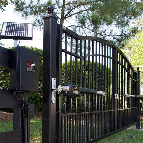 automatic gate opener dual swing gate opener agri supply