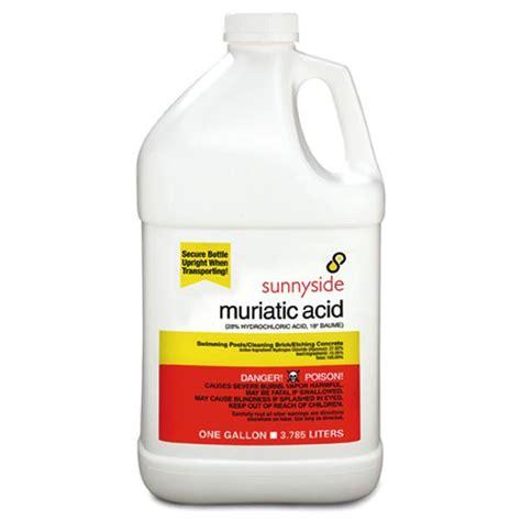 muriatic acid pool chemicals