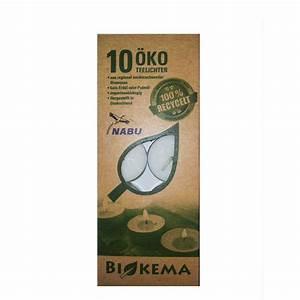Teelichter Ohne Alu : 10er pack ko teelichter mit aluh lle von biokema ~ A.2002-acura-tl-radio.info Haus und Dekorationen
