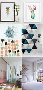 Tableau Deco Maison : deco scandinave tableau bricolage maison et d coration ~ Teatrodelosmanantiales.com Idées de Décoration