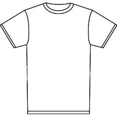 Blank Tshirt Template Blank Tshirt Template Clipart Best