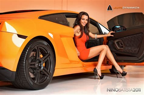 Auto Car Rewess Future Girls In Lamborghini Automotive