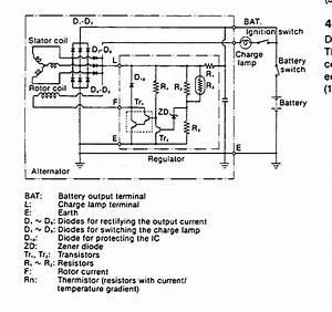 Stock Alternator With External Regulator