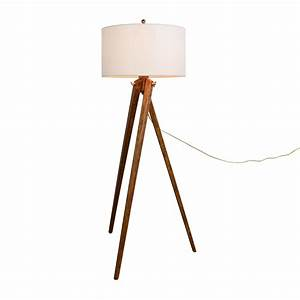 Shop royal blue off whi for Used wood floor lamp