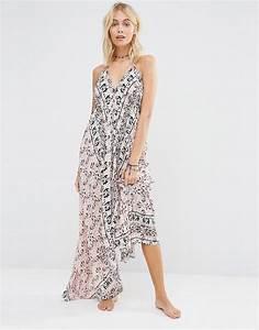 surf gypsy robe longue a imprime foulard mode je With robe imprimé foulard