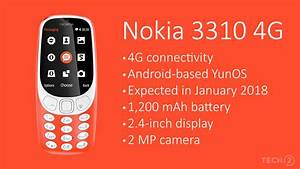 Nokia 3310 With 4g Support Expected By Mid