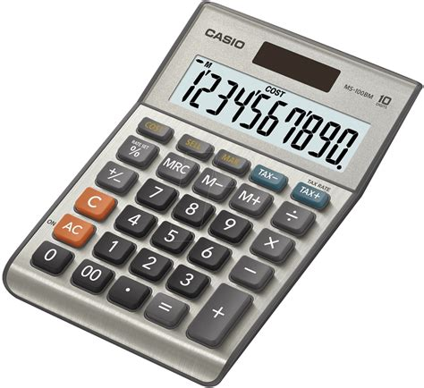 CASIO MS-100BM: Desktop calculator at reichelt elektronik