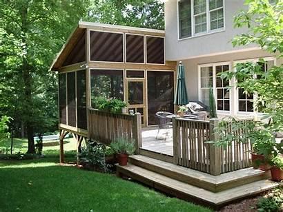 Porch Deck Screen Portable Trailer