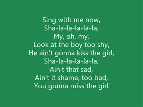 The Little Mermaid  'kiss The Girl' Lyrics ♫ Youtube