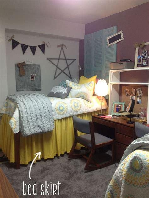 bedskirt dorm room dorm room college dorm rooms dorm