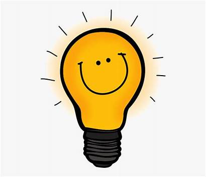 Bulb Clipart Thinking Lightbulb Transparent Fall Into