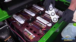 How To Fill Your Electric Golf Car Batteries