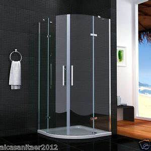 Viertelkreis Duschkabine 80x80 : duschkabine runddusche duschabtrennung dusche viertelkreis ~ Watch28wear.com Haus und Dekorationen