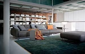 Tapis Bleu Petrole : canap gris 50 designs en nuances grises pour votre salon ~ Teatrodelosmanantiales.com Idées de Décoration