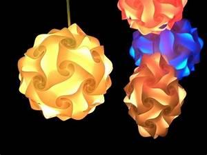 Lampe Anschließen 2 Kabel Ohne Farbe : puzzle lampe l 35cm fertigmodell ohne kabel light blue ~ Orissabook.com Haus und Dekorationen