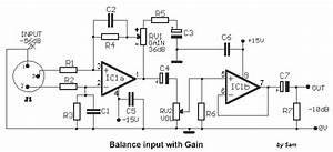 Audio Tone Balance Circuit Page 3   Audio Circuits    Next Gr