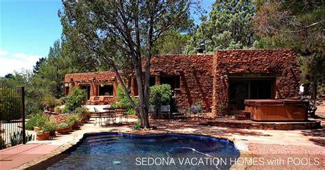 sedona cabin rentals sedona vacation rentals with pools rock realty